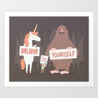 Believe In Yourself Art Print