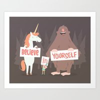 Believe In Yourself Art Print