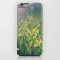green gras bokeh 1b iPhone 6 Slim Case