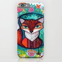 tatoo fox iPhone 6 Slim Case