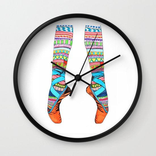 Happy Ballet Wall Clock