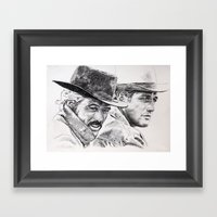 Butch Cassidy And The Su… Framed Art Print