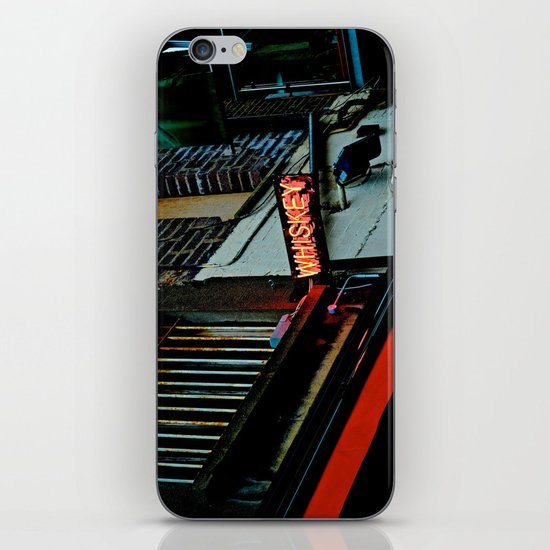 Back Alley Whiskey iPhone & iPod Skin