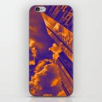 Paisaje de cielo y torres iPhone & iPod Skin