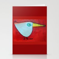 Birdy Blue Stationery Cards