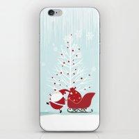 Happy Santa iPhone & iPod Skin