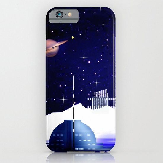 Extra-solar ice moon. iPhone & iPod Case