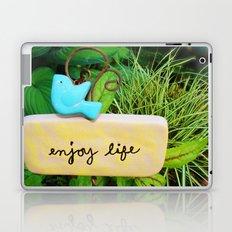 Enjoy Life Laptop & iPad Skin