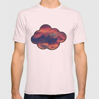 Playful Daydream Mens Fitted Tee Light Pink SMALL