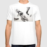 HMS Victory  Mens Fitted Tee White SMALL