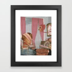 The Pink Room Framed Art Print
