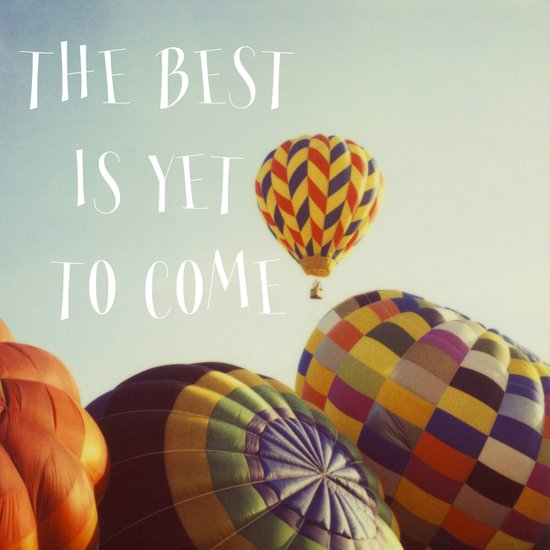 The Best - Balloons Canvas Print