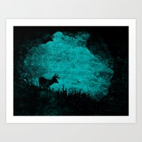 Patronus In A Dream Art Print