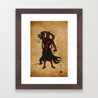 Darth A-un Framed Art Print