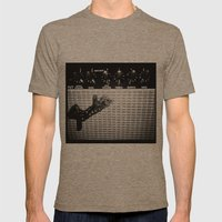 Keep On Rockin' In The F… Mens Fitted Tee Tri-Coffee SMALL
