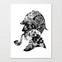 Mr. Holmes Canvas Print