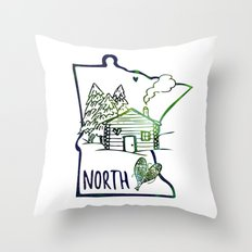 Northland Love Throw Pillow