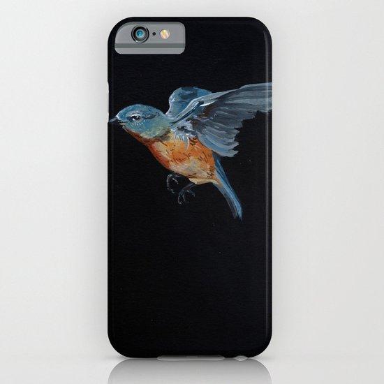 Northern Blue Bird in Flight iPhone & iPod Case