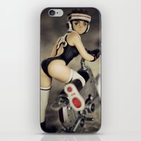 Girlbike iPhone & iPod Skin