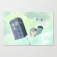 Tardis Sky Canvas Print