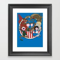 What Time Is It?! Framed Art Print