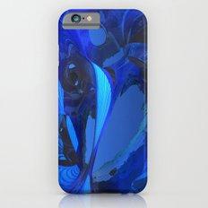 Cobalt Caverns iPhone 6 Slim Case