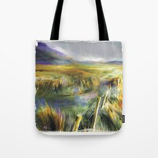 Approaching Rain - Achill Island - Ireland Tote Bag