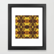 Kaleidoscope Woods Framed Art Print