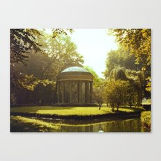 Temple of Love Canvas Print