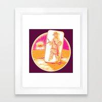 Handiana Framed Art Print