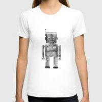 robot T-shirts featuring Robot by Alma Charry