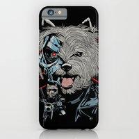 iPhone & iPod Case featuring THE TERRIERMINATOR by Julia Sonmi Heglund