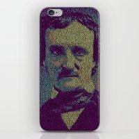 Edgar Allan Poe. iPhone & iPod Skin