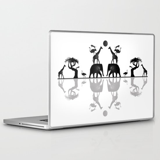 Animal Stack Laptop & iPad Skin