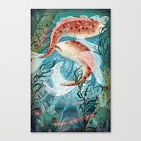 River Ramblers Canvas Print