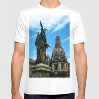 On Wing Mens Fitted Tee White SMALL