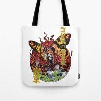 Monster VS Monster Tote Bag