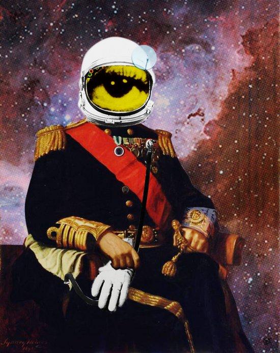 Space General Eye Man Art Print