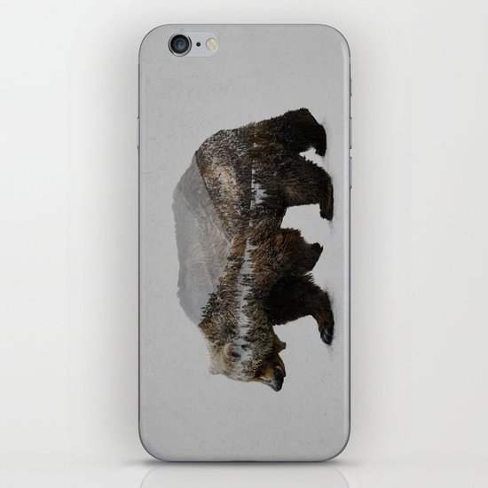 The Kodiak Brown Bear iPhone & iPod Skin