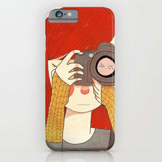 Behind The Lens iPhone & iPod Case