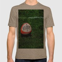 Rugby Time Mens Fitted Tee Tri-Coffee SMALL