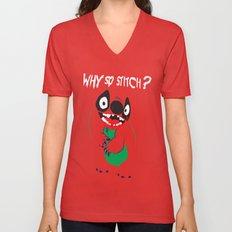 Why So Stitch? Unisex V-Neck