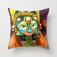 Part Of A Tribe Throw Pillow