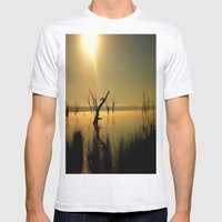 Sun Worshipper  Mens Fitted Tee Ash Grey SMALL