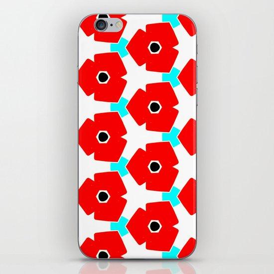 Herweije Retro Flower Pattern iPhone & iPod Skin