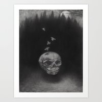Summerghost Art Print