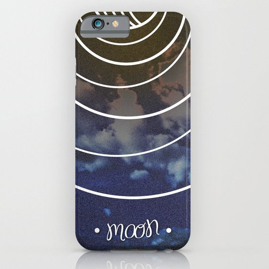 Moon Phases iPhone & iPod Case
