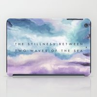 Stillness [Collaboration… iPad Case