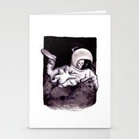 Bastard Sons In Space Stationery Cards