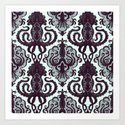 Victorian Squid Art Print